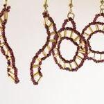 Spokes Earring Patterns, Beading Tu..