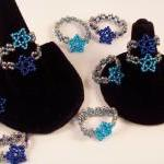 Star Ring Pattern, Beading Tutorial..